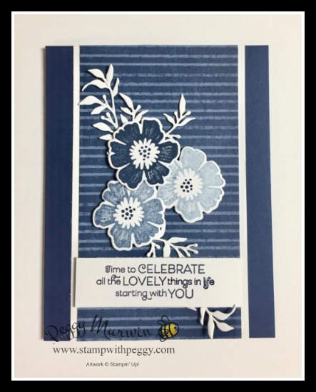 Everything is Rosy Stamp Set, Everything is Rosy Dies, Everything is Rose Designer Paper, Stamp with Peggy