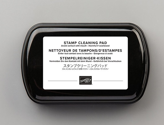 Cleaning Pad, Stamp with Peggy