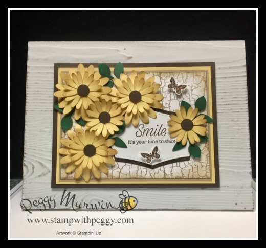 Daisy Lane Stamp Set, Medium Daisy Punch, Home Decor, Stamp with Peggy