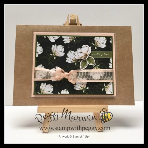 Magnolia Lane Memories & More Card Pack, Stamp with Peggy