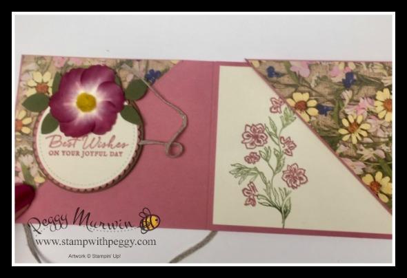Pressed Petal Suite, Path of Petals Designer Paper, Pressed Petal Washi Tape, Wedding, StampwithPeggy