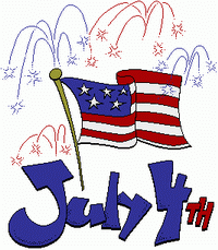 4th of July, Stamp with Peggy