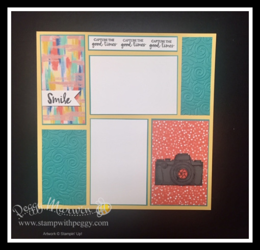 Capture the Good Stamp Set, Follow Your Art Designer Paper, August Scrapbook, StampWithPegy