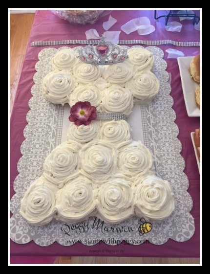 Bridal Shower, Cinnamon Roll Dress, StampwithPeggy