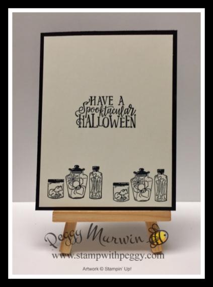 Monster Bash Suite, Spooktacular Bash Stamp Set, Halloween, Stamp with Peggy