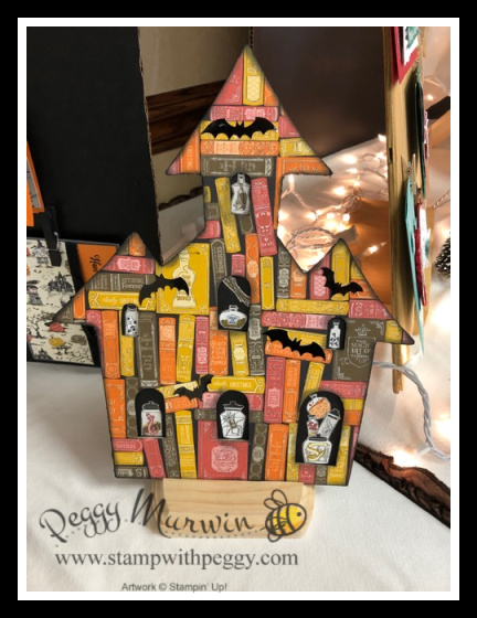 Stampin' Sisters Holiday Hoopla 2019, Monster Bash Suite, Stamp with Peggy