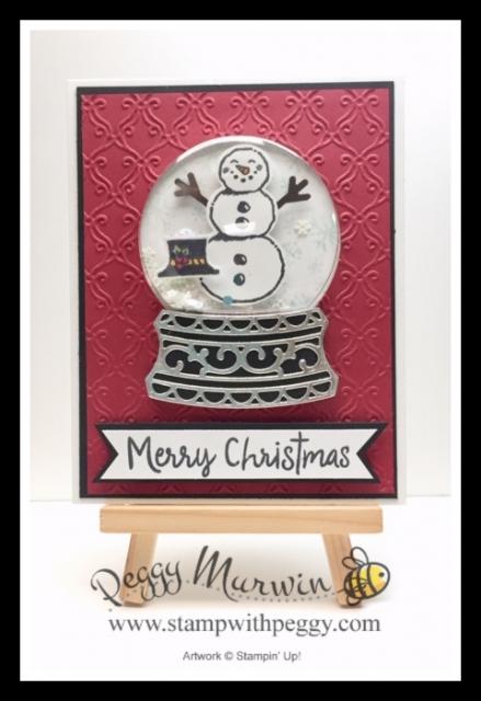 Snowman Season Bundle, Snowman Season Stamp Set, Snowman Builder Punch, Shaker Card, Snow Globe, Fall Fest, Winter, Christmas, Stamp with Peggy