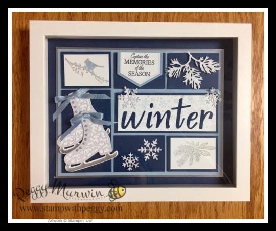 Winter Framed Art Class to Go