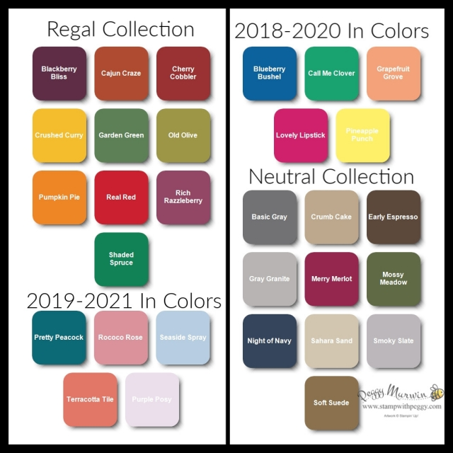 Online Extravaganza, Regal Collection, Neutral Collection, In Colors, Stamp with Peggy