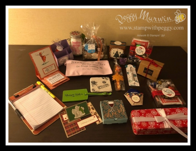 Stampin' Sisters, Lansing On Stage 2019, Stamp with Peggy