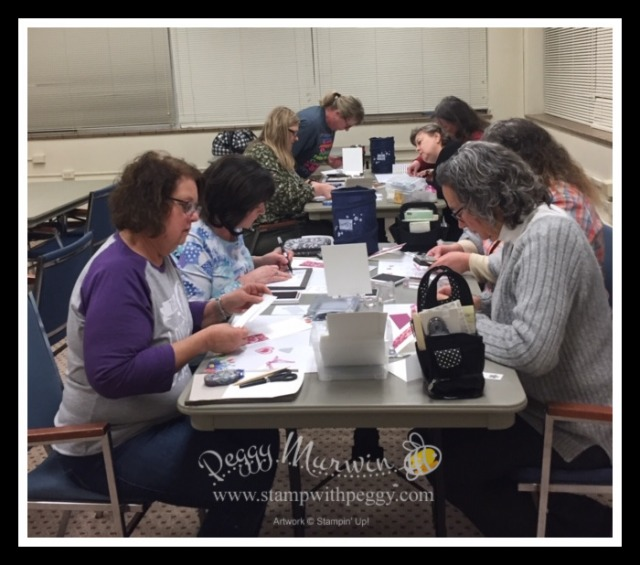 Bingo, Spring Mini, Sale-a-Bration, Stamp with Peggy
