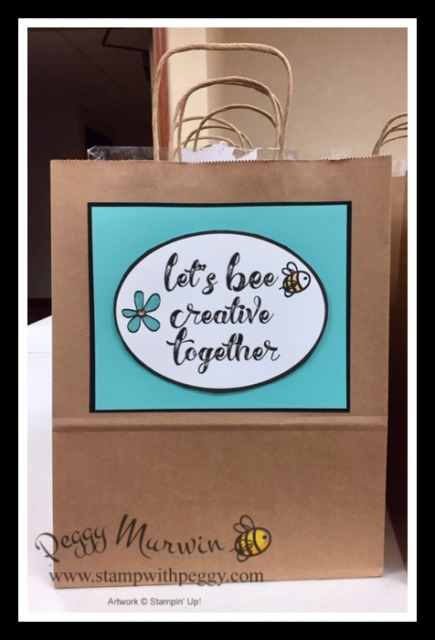 Creative Escape with Peggy, Let's BEE Creative Together, Retreat, Crop, Scrapbooking, Stamp with Peggy