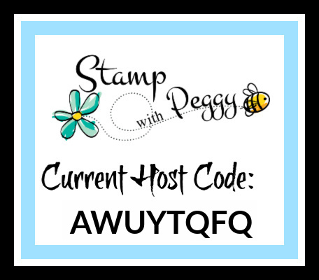 Host Code, February Host Code, Stamp with Peggy