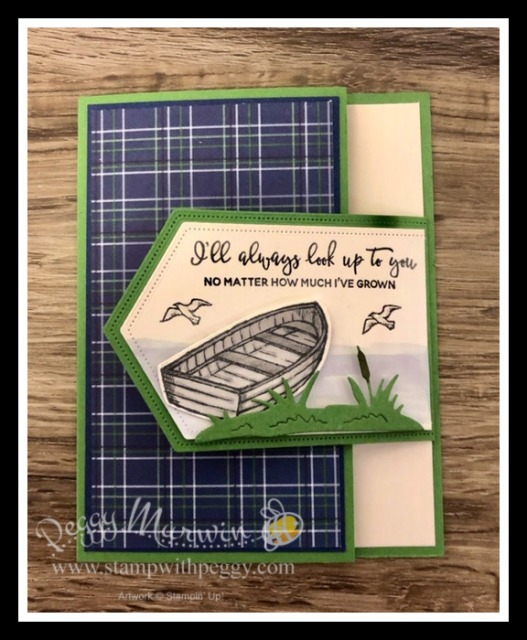 Stampin' Sisters Retreat, Masculine Cards, By the Dock Stamp Set, Dockside Dies, Country Club Designer Paper, Stamp with Peggy