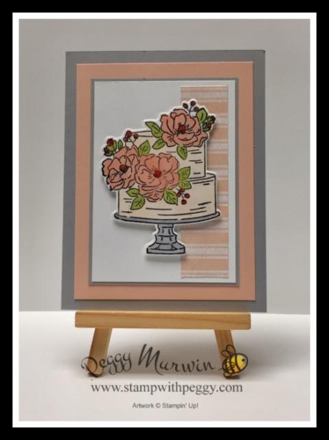 Happy Birthday to You Stamp Set, Magnolia Lane Designer Paper, Sale-a-Bration, Birthday, Wedding, Anniversary, Stamp with Peggy