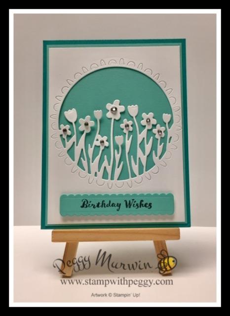 Itty Bitty Birthdays Stamp Set, Sending Flowers Dies, Rhinestones, Coordination Release, Birthday, Stamp with Peggy