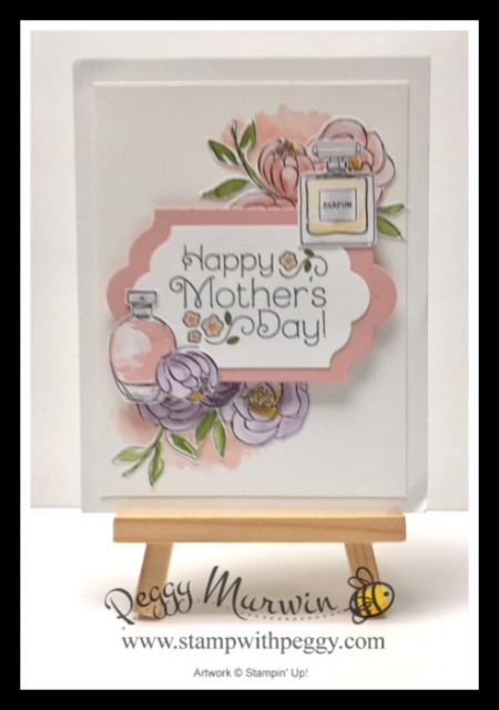 Best Dressed Designer Paper, Mother's Day, Stamp with Peggy