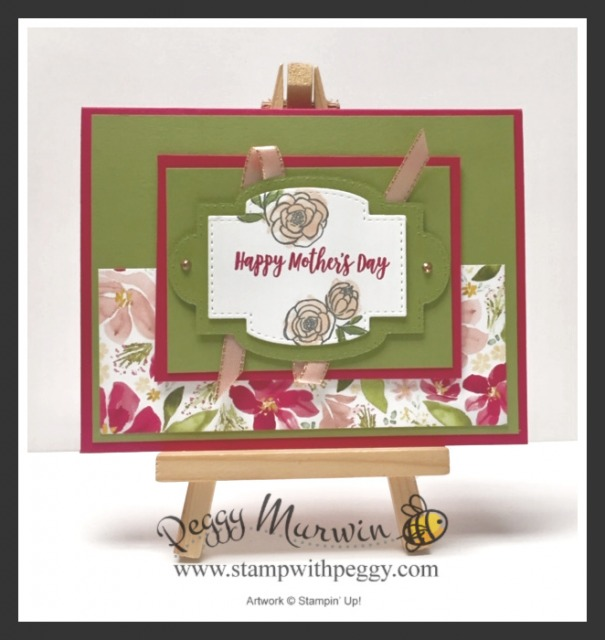 Best Dressed Designer Paper, Stitched So Sweetly Dies, Mother's Day, Stamp with Peggy