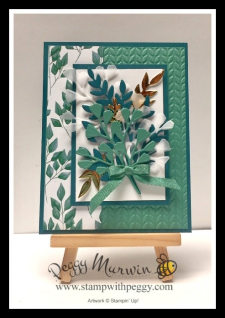 Forever Greenery Suite, Forever Flourishing Dies, Forever Greenery Designer Paper, Greenery Embossing Folder, Stamp with Peggy