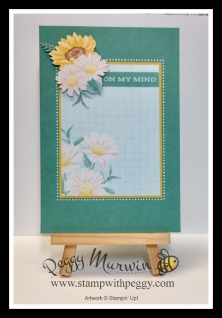 Flowers for Every Season Memories & More Cards & Envelopes, Flowers for Every Season Memories & More Card Pack, Summer Splash, Stamp with Peggy