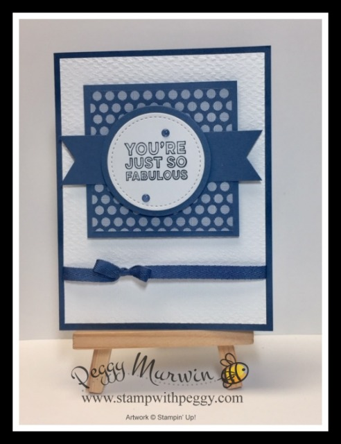 Many Mates Stamp Set, 2020-2022 In Color DSP, Tasteful Textiles 3D Embossing Folder, Dainty Diamonds 3D Embossing Folder, Mosaic 3D Embossing Folder, Stitched Shapes Dies, Layering Circles Dies, Stamp with Peggy
